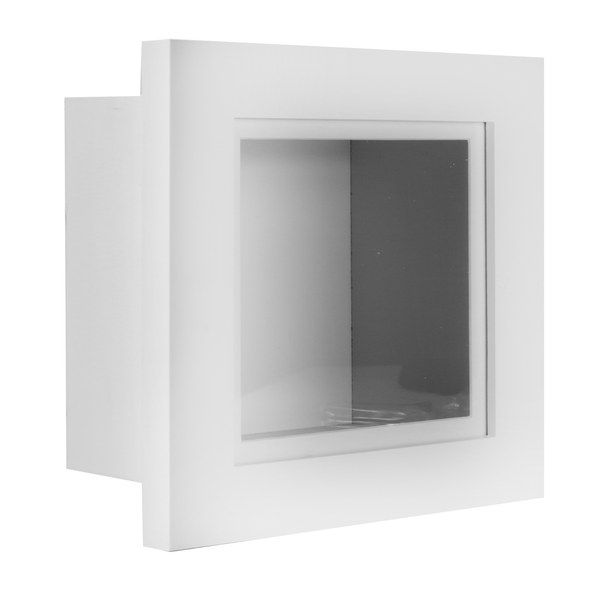 "3D Box Frame | M&W White 12"" x 12"""