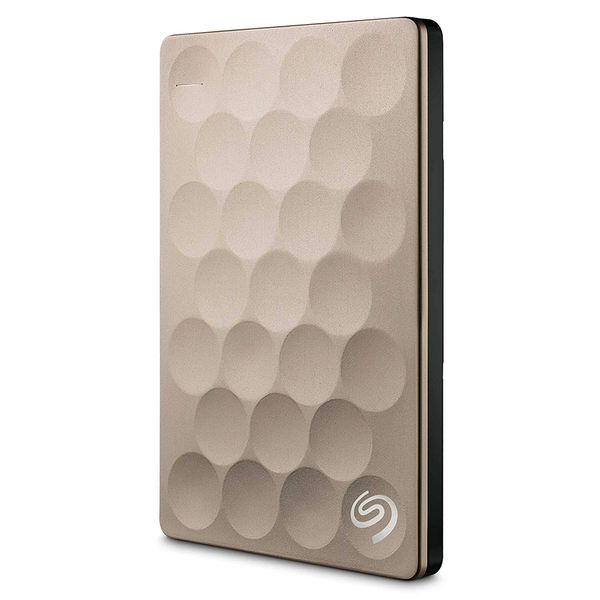 Seagate Backup Plus Ultra Slim 1TB external hard drive 1000 GB Gold - Image 1