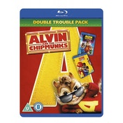 Alvin & The Chipmunks 1 & 2 The Squeakquel Blu-ray