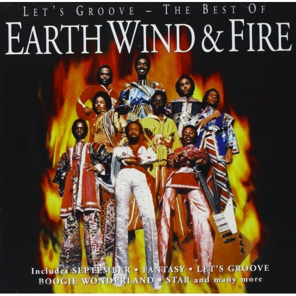 Earth Wind And Fire - Lets Groove - The Best Of CD