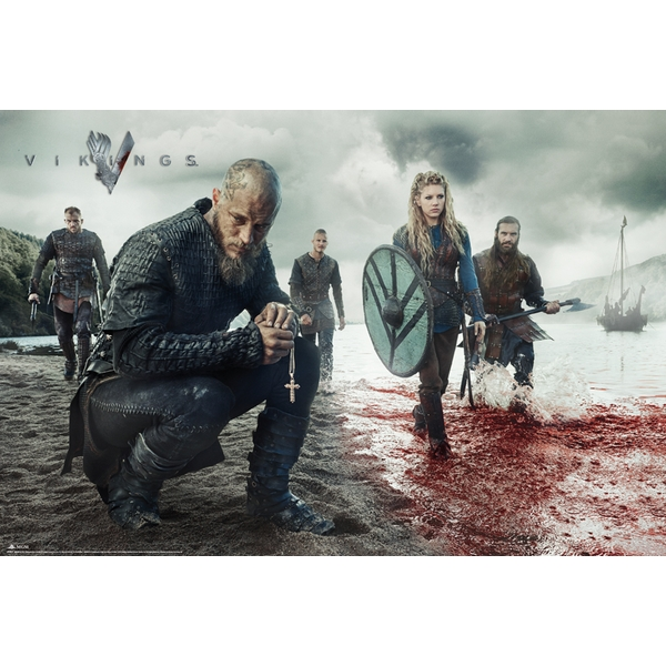 Vikings Blood Landscape Maxi Poster
