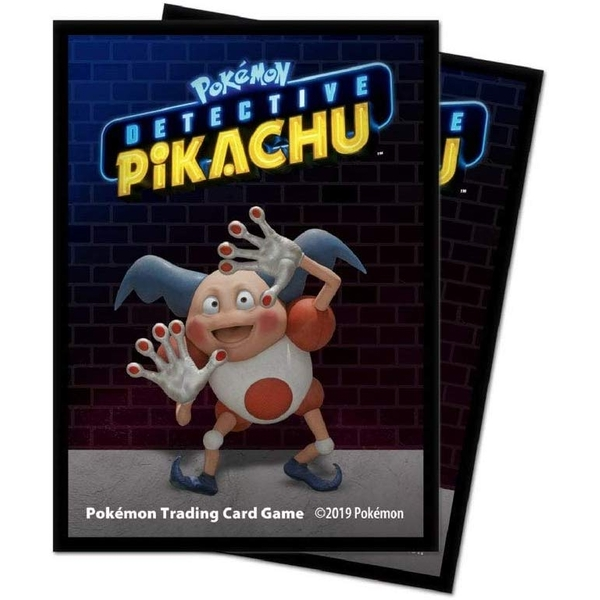 Ultra Pro Pikachu Detective Pikachu - Mr. Mime Deck Protectors (65 Sleeves)