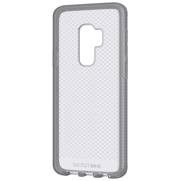 Tech21 Evo Check mobile phone case Cover Grey for Galaxy S9+