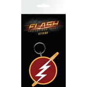 The Flash Logo Key Ring