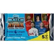 Match Attax Premier League 17/18 Promotional 5 Card Booster Pack (10 Packs)