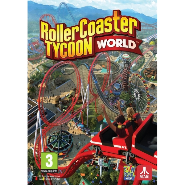 Roller Coaster Tycoon World PC Game