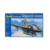 Dassault Aviation Mirage 2000D 1:72 Revell Model Kit