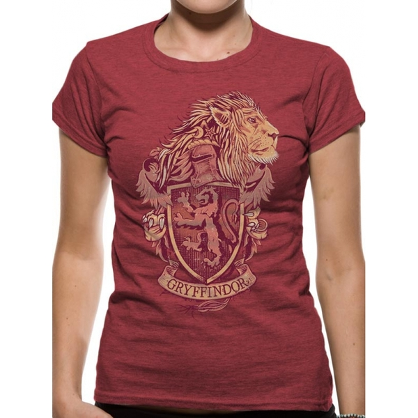 cda522752 Hey! Stay with us... Harry Potter Gryffindor Small T-Shirt