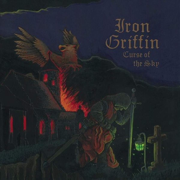 Iron Griffin - Curse Of The Sky Vinyl