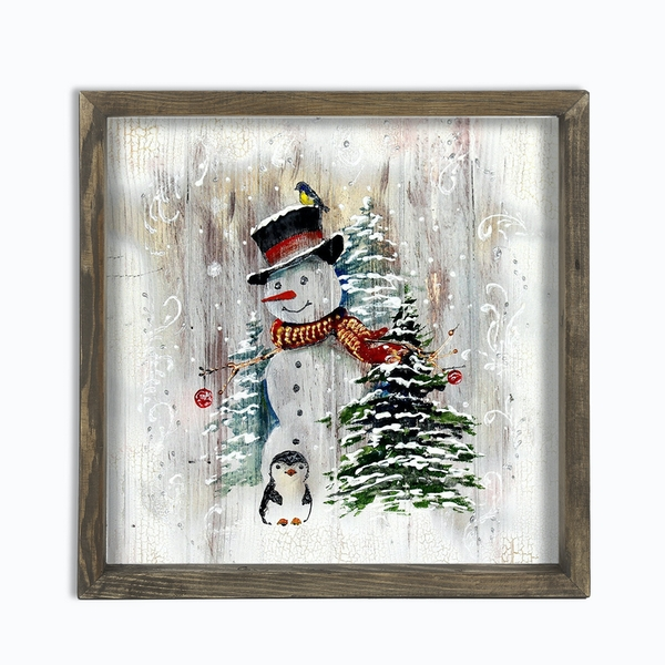 YBS030 Multicolor Decorative Framed MDF Painting