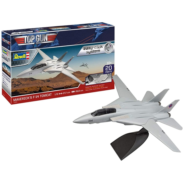 F-14 Tomcat Top Gun 1:72 Easy Click Revell Model Kit - Image 1