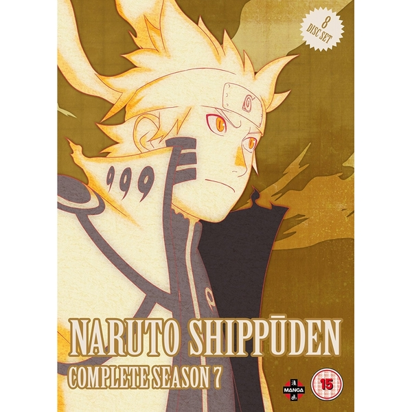 Naruto Shippuden Complete Series 7 Box Set (Episodes 297-348) DVD