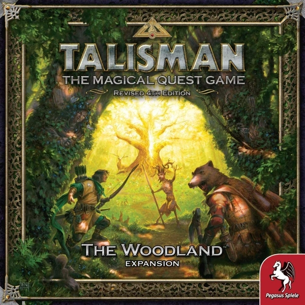 Talisman Board Game 4th Edition The Woodland Expansion