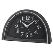 Seiko QHE166K Analogue Beep Alarm Clock - Black