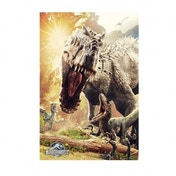 Jurassic World Attack Maxi Poster