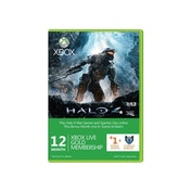 Xbox LIVE Gold 12 Months Membership + 1 Month Card Halo 4 Branded Xbox 360