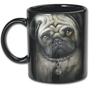 Pug Life Ceramic Mugs 0.3L - Set of 2