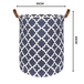 Laundry Basket with Drawstring Cover | M&W Regular - Image 7