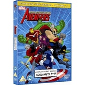 Avengers Earth's Mightiest Heroes Vols. 1-4 DVD