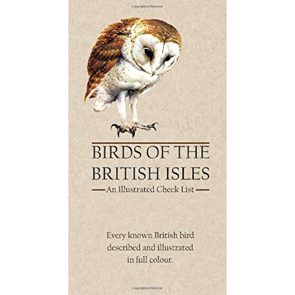 Birds of the British Isles: An Illustrated Check List by Alan Avery (Paperback, 2016)
