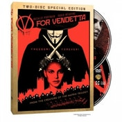 Ex-Display V for Vendetta Two-Disc Special Edition DVD Used - Like New