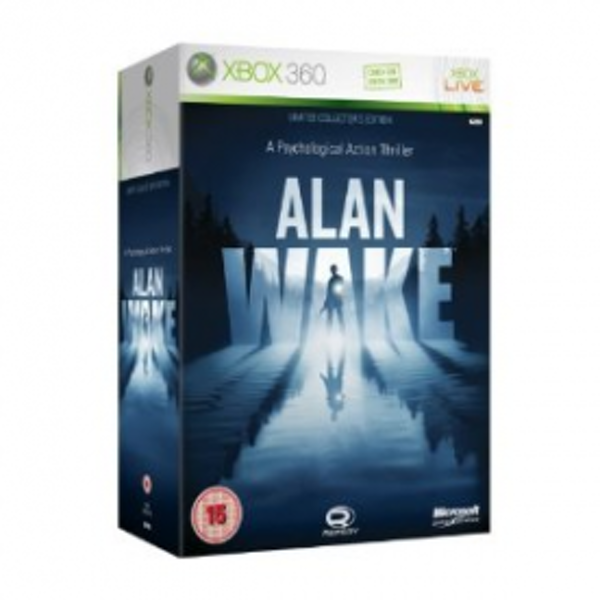 Alan Wake Limited Collector's Edition Game Xbox 360