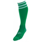 PT 3 Stripe Pro Football Socks LBoys Green/White