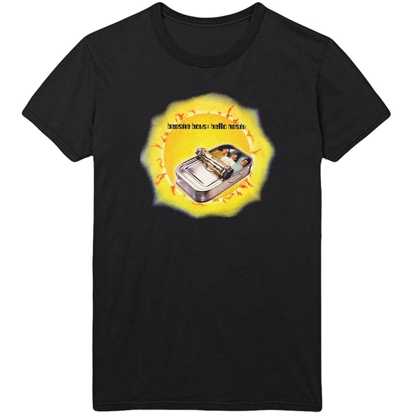 The Beastie Boys - Hello Nasty Men's Large T-Shirt - Black