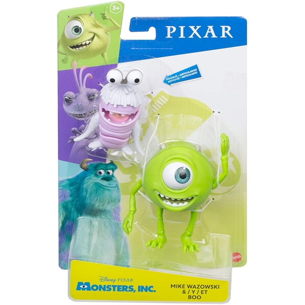 "Disney Pixar Monsters Inc. 7"" Mike Wazowski & Boo Figures"