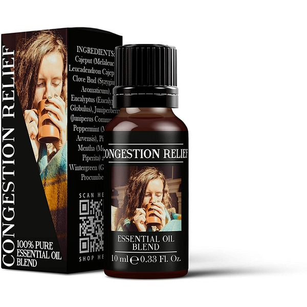 Mystic Moments Congestion Relief Essential Oil Blends 10ml