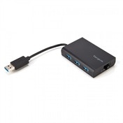 Targus USB 3.0 Hub With Gigabit Ethernet