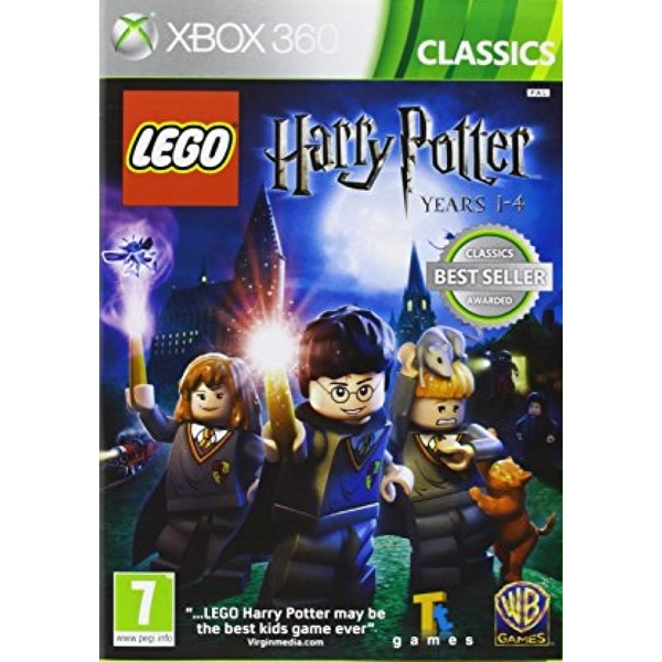 (Pre-Owned) Lego Harry Potter Years 1-4 Game (Classics) Xbox 360 Used - Like New
