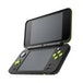 New Nintendo 2DS XL Black and Lime Green Console Pre-installed with Mario Kart 7 (UK Plug) - Image 3