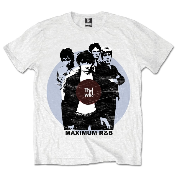 The Who - Maximum Rhythm & Blues Unisex Medium T-Shirt - White