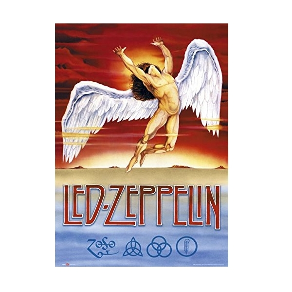 Led Zeppelin Swansong Maxi Poster
