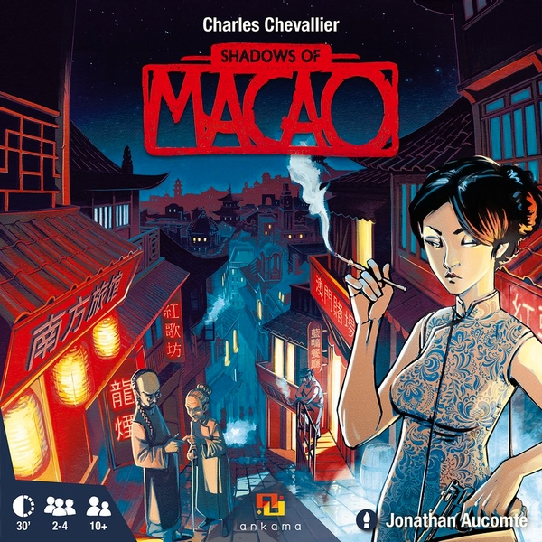 Shadows of Macao Board Game