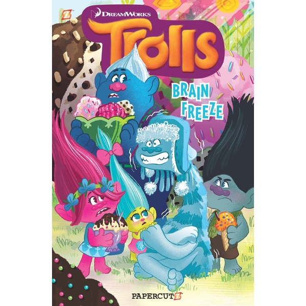 Trolls Hardcover Volume 4: Brain Freeze (Trolls Graphic Novels) Hardcover