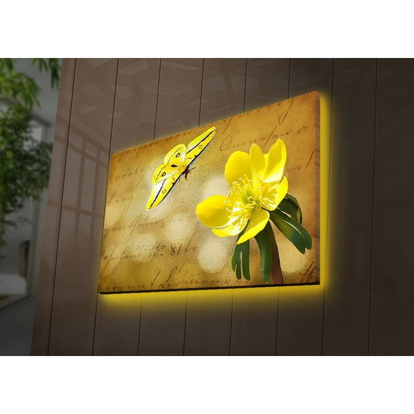 4570DACT-72 Multicolor Decorative Led Lighted Canvas Painting