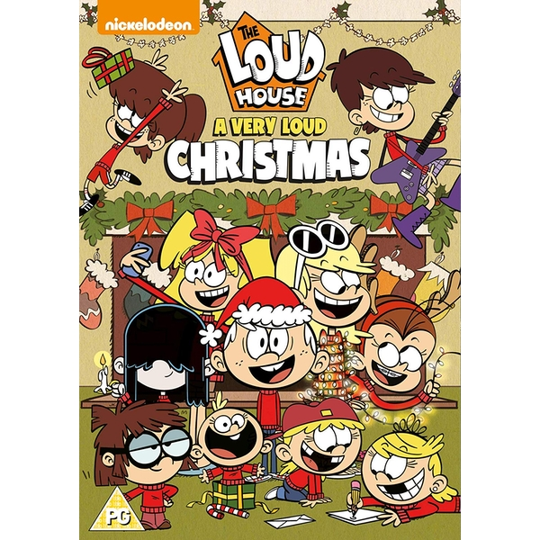 The Loud House: A Very Loud Christmas DVD