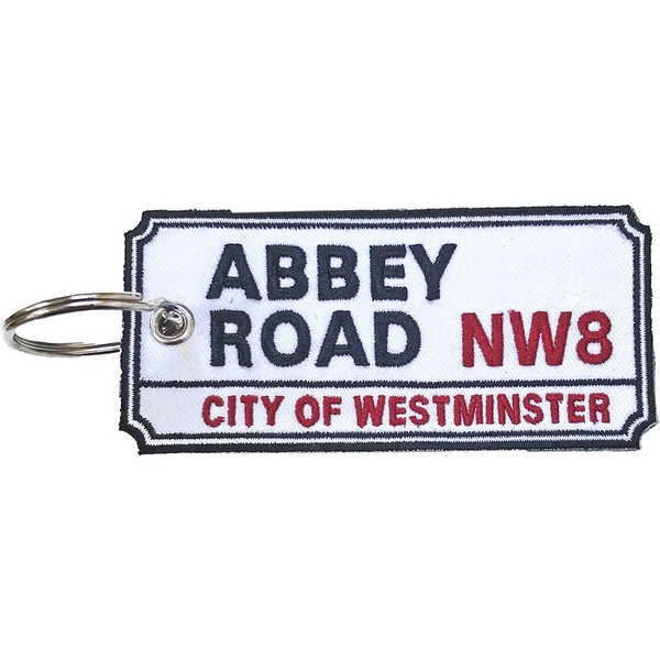 Road Sign - Abbey Road, NW London Sign Keychain