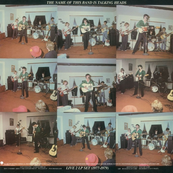 Talking Heads - The Name Of This Band Is Talking Heads Vinyl