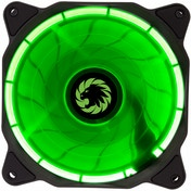 Game Max Eclipse Green Ring LED 12cm Cooling Fan With Hydraulic Bearings