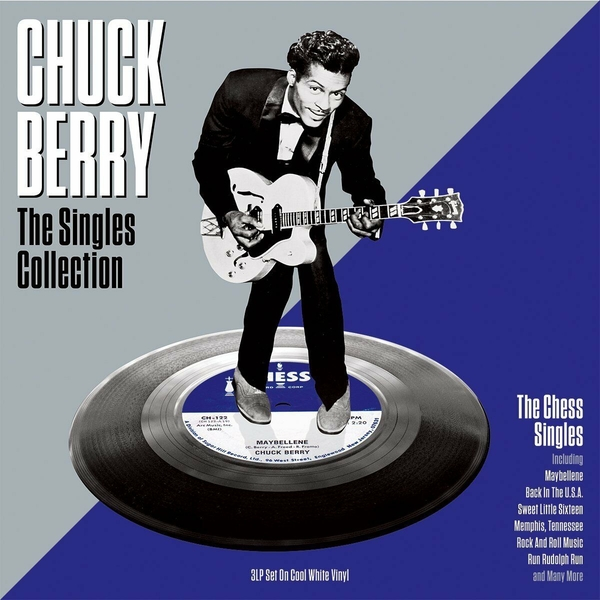 Chuck Berry ‎– The Singles Collection White Vinyl