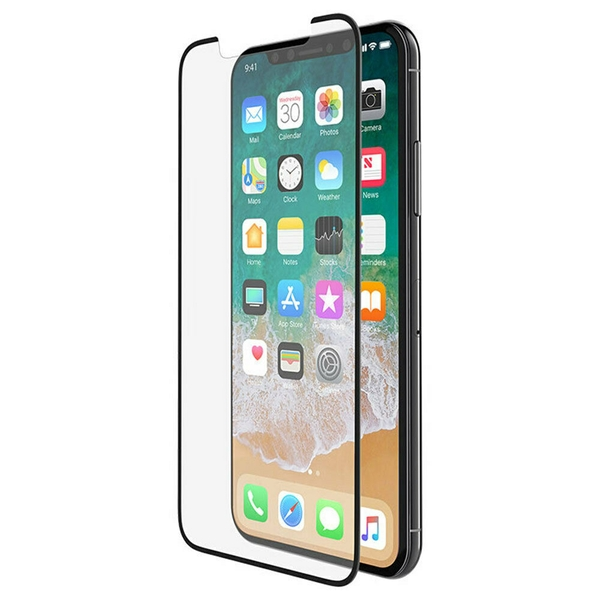 Tempered Glass Curve SCreen Protector Iphone X BLK