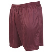 Precision Micro-stripe Football Shorts 22-24 inch Maroon