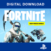 Fortnite Deep Freeze Bundle PS4 Game PSN Digital Download
