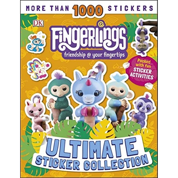 Fingerlings Ultimate Sticker Collection With more than 1000 stickers Paperback / softback 2019