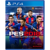 Pro Evolution Soccer 2018 PS4 Game