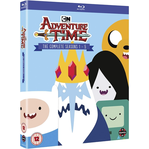 Adventure Time - Complete Seasons 1-5 Blu-ray