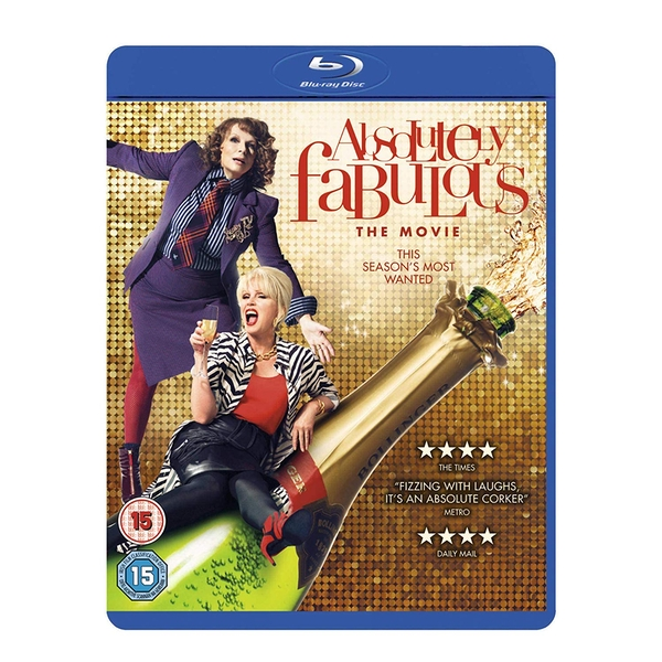 Absolutely Fabulous: The Movie Blu-ray